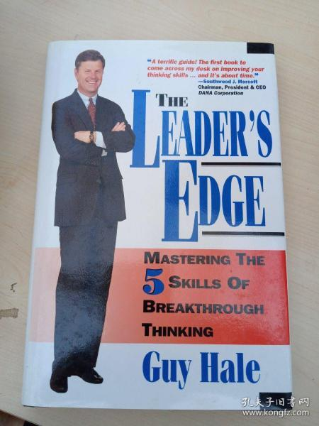 THE LEADER S EDGE(签名书)