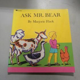 Ask Mr. Bear  问一问熊先生