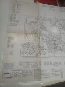 三样牌A3—CA型彩色电视机原理图(英文版)