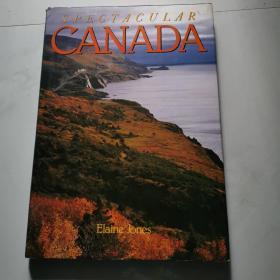 SPECTA CULAR CANADA(英文画册) 8开精装  货号N1