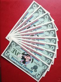 迪士尼纪念钞