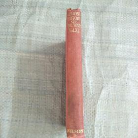 NELSON,S HISTORY OF THE WAR.   VOLU XVIII[纳尔逊的战争史。第十八卷]精装小32开