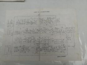 友谊牌351—1型电视机电原理图