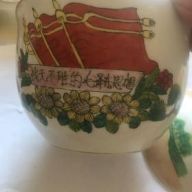 文革时期,精品瓷器战无不胜的毛泽东思想。