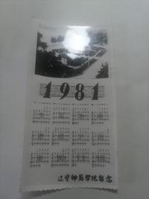1981年历照片