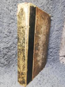 1833年  FINDENS ILLUSTRATIONS OF THE LIFE AND WORKS OF LORD BYRON 铜版插图名作《拜伦生平与作品中的人物景物插图集》 名坊RIVIERE装帧  含42副铜板整页插图 上书口菱形压金花纹 24X16.5CM