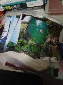 宜昌三峡人家风景区 明信片12张全
