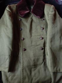 五五式 将校呢 大衣 校官 马裤呢 大衣 经典 军大衣 收藏
