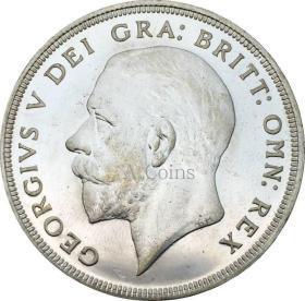 英国1皇冠 - 乔治V花圈皇冠1927年硬币