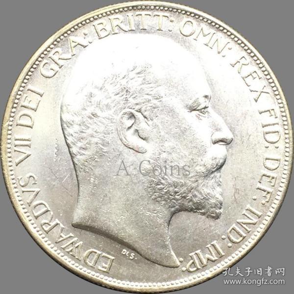 英国1902年爱德华七世硬币