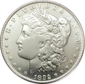 美利坚合众国1892硬币