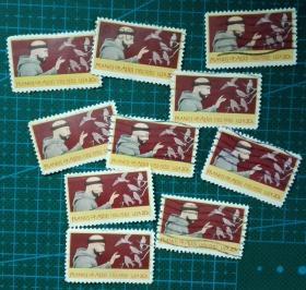 美国邮票-----弗兰西斯诞生800年(信销票)