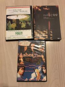 王家卫作品DVD,3张