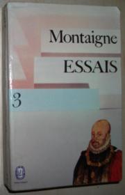 法语原版书 ESSAIS 3 de Michel de MONTAIGNE 蒙田随笔集 第3卷