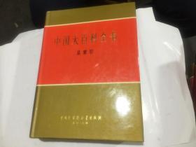中国大百科全书【总索引】【16开精装带书衣】 乙种本