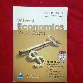 'A` Level Economics model essays