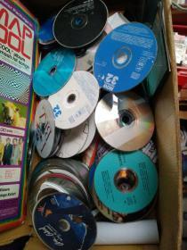 唱片CD/DVD 裸碟 特色装饰/摆设/陈列/堆砌用 1元3张
