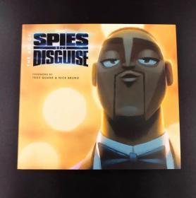 现货 原版 The Art of Spies in Disguise 变身特工设定集