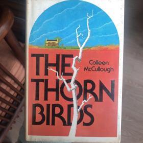 The thorn Birds ( 荆棘鸟 ) 精装,带护封书衣,1977 年 初版、首版,和《飘》齐名,英文原版