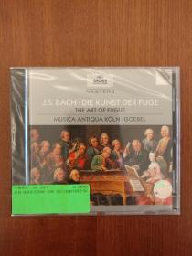 J.S. Bach: The Art of Fugue (Die Kunst der Fuge)  巴赫:赋格的艺术 (格贝尔指挥科隆古乐乐团)(含一张CD)