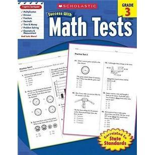 学乐成功系列数学练习册3年级/ScholasticSuccesswithMathTests:Grade3