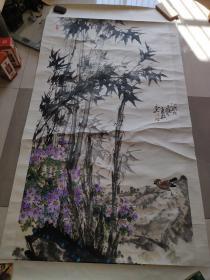 重庆一级美术家 唐毅 参展精品 (终身保真 长177宽94)