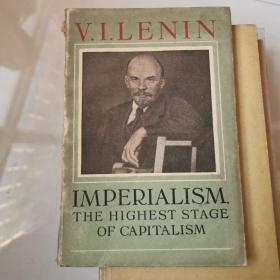V.LÉNINE IMPERIALISM THE HIGHEST STAGE OF CAPITALISM  货号N3