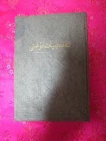 文学词典(维吾尔文)
