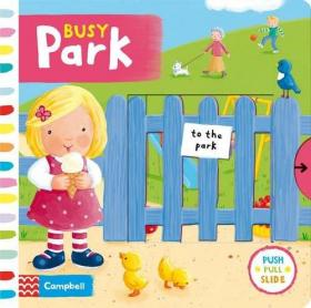 BusyPark(BoardBook)繁忙的公园(BoardBook)