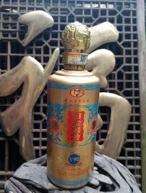 贵州茅台白金窖龄酒V90酒瓶