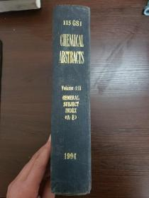 CHEMICAL ABSTRACTS Vol.115 GENERAL SUBJECT INDEX(A-E)