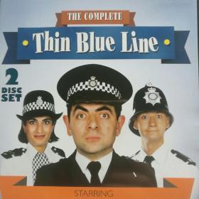 憨豆警局(细蓝线)DVD两张