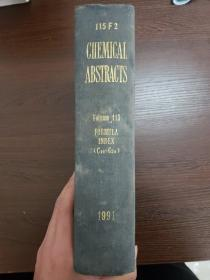 CHEMICAL ABSTRACTS Vol.115 FORMULA INDEX(C14-C24)