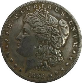 美国1898年硬币