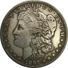 美利坚合众国1897年硬币