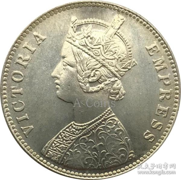 印度 1892 年硬币