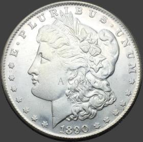 美国1890年硬币