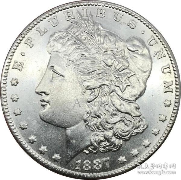 美利坚合众国1887硬币