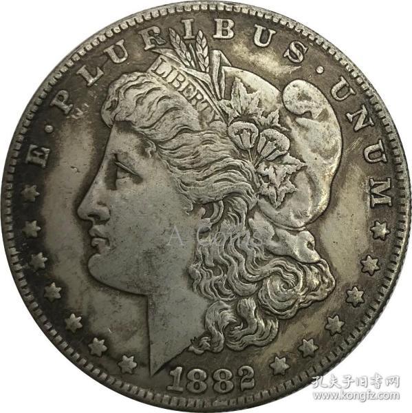 1882年美利坚合众国硬币