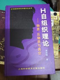 H自组织理论:物质、反物质与真空(21世纪科学与文化丛书)