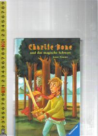 【精装本礼品书】原版德语故事书 Charlie Bone und das magische Schwert【店里有许多德文原版小说欢迎选购】