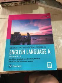 EDEXCEL INTERNATIONAL GCSE(9-1)ENGLISH LANGUAGE AStudent Book
