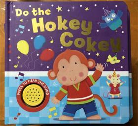 尾单 低幼纸板书 do the Hokey Cokey  瑕疵  没有声音