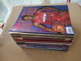 NBA 环球体育 灌篮 2007年全年36本 缺2本 共34本合售(详细见描述)缺第23、31期 封面科比等