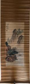 松石细竹画七十年代