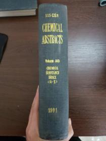 CHEMICAL ABSTRACTS Vol.115 CHEMICAL SUBSTANGE INDEX(Si-Z)