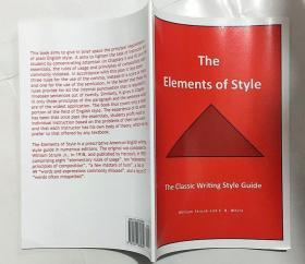 The Elements of Style: The Classic Writing Style Guide 风格要素:经典写作风格指南