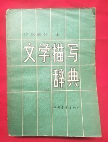 文学描写辞典(上)小说部分