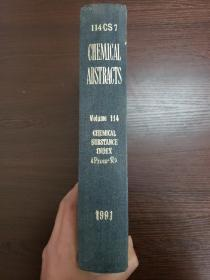CHEMICAL ABSTRACTS Vol.114 CHEMICAL SUBSTANCE INDEX(Prom-R)