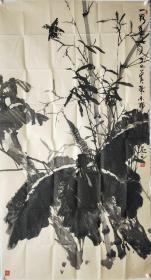保真名家字画,特价处理:陈木辉,六尺整张男,1957年9月出生,广东省普宁市人,现居广州。自幼喜欢艺术,尤其喜爱画画,擅长画竹。受著名画家关山月弟子潘生老师指点,艺术日有长进,作画形成自己的特色风格。连年来,有多件墨竹作品入选广州,普宁等地方性的美术展览和被多家单位,公司收藏,收编入册。现为揭阳中国画院画师,普宁市美术协会会员。